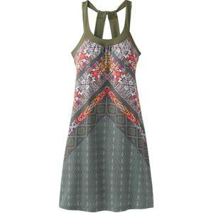 Prana Quinn A-Line Cross Back Midi Dress Southwest